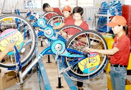 Construiran centro de produccion de bicicletas en Binh Duong hinh anh 1