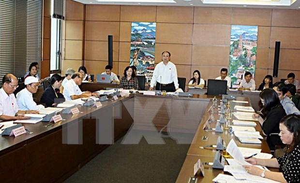 Diputados vietnamitas evaluan situacion socioeconomica de 2015 hinh anh 1