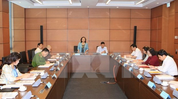 Diputados analizan documentos del proximo Congreso del PCV hinh anh 1