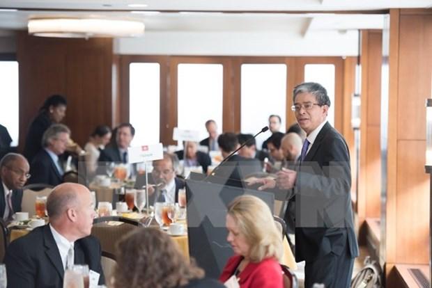 Embajador vietnamita destaca potencial en nexos Vietnam y California hinh anh 1