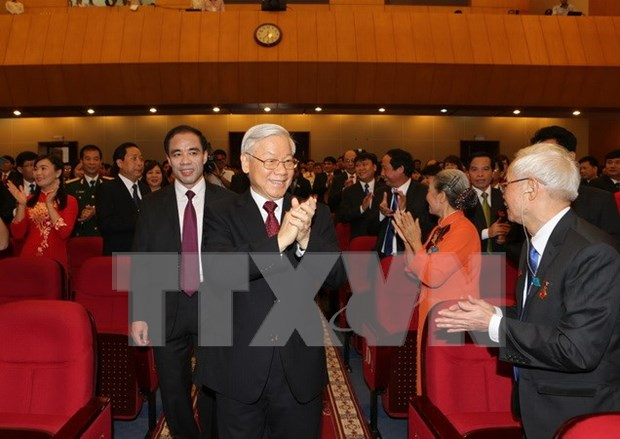 Lider partidista da orientaciones al desarrollo de Tuyen Quang hinh anh 1
