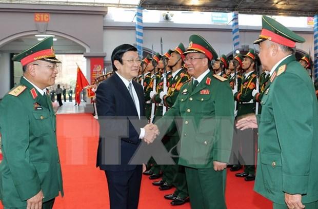 Fuerza de Inteligencia honrada con Orden de Merito Militar hinh anh 1