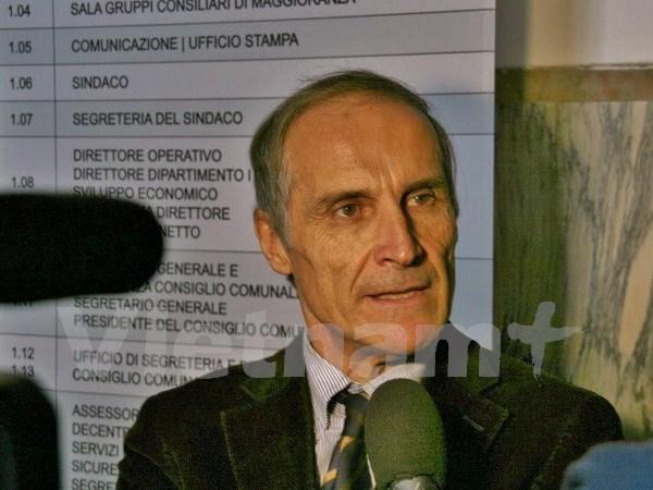 Partido de Comunistas Italianos destaca papel del PCV hinh anh 1