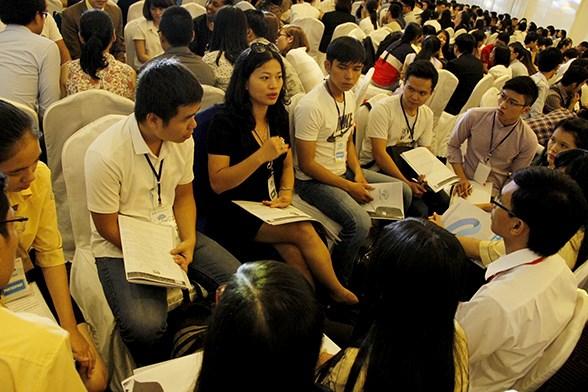 Jovenes vietnamitas desarrollan habilidades de ciudadano global hinh anh 1