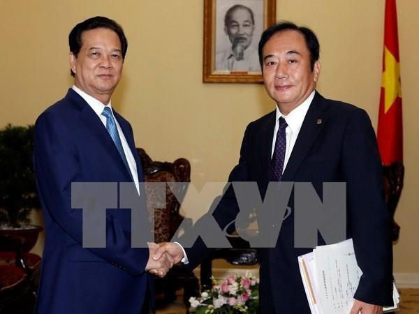 Vietnam reafirma fomento de nexos con Japon hinh anh 1