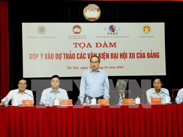 Alaban rol de supervision y critica social para impulsar la democracia hinh anh 1