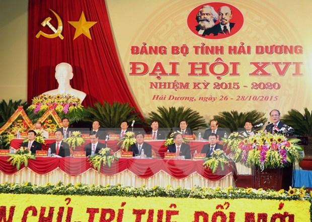 Hai Duong exhortada a concretar metas de desarrollo industrial hinh anh 1