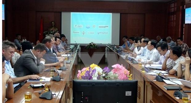 Cooperan Vietnam y Holanda contra erosion litoral hinh anh 1