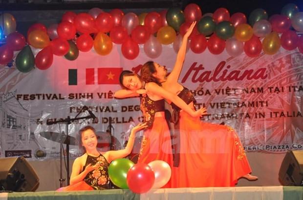 Dia de cultura vietnamita en Italia: puente de amistad bilateral hinh anh 1
