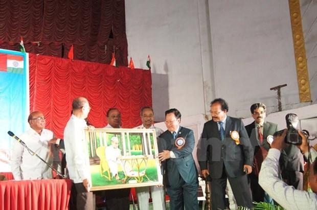 Efectuan Festival de amistad entre pueblos vietnamita e indio hinh anh 1
