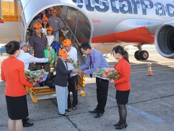 Abre Jetstar Pacific nueva ruta Chu Lai - Buon Ma Thuot hinh anh 1