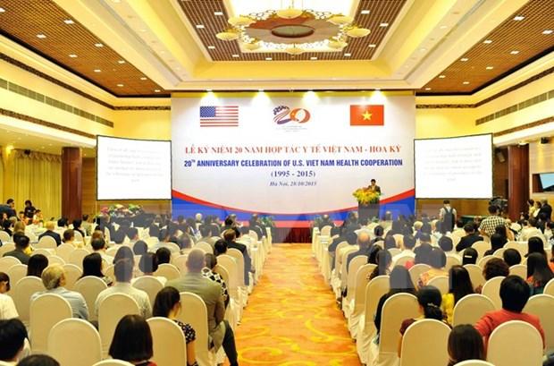 Vietnam y EE.UU celebran aniversario de cooperacion en salud hinh anh 1