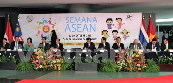 Reconoce Mexico en ASEAN a una asociacion prioritaria hinh anh 1