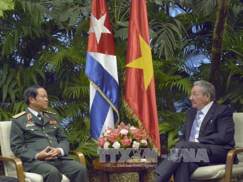 Lazos en defensa: simbolo de hermandad especial Vietnam- Cuba hinh anh 1