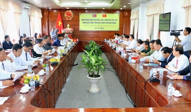 Corea del Norte acelera cooperacion en localidades vietnamitas hinh anh 1