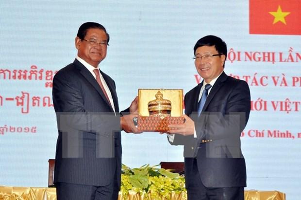 Vietnam y Cambodia renuevan compromisos de cooperacion hinh anh 1