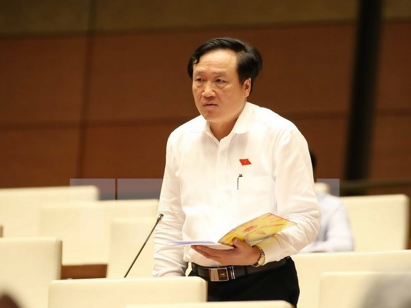 Parlamento vietnamita continua analizando proyectos legales hinh anh 1