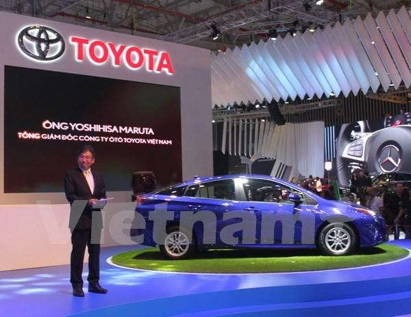 Abre sus puertas la mayor exposicion automovilistica en Vietnam hinh anh 1