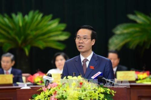 Localidades vietnamita y laosiana promueven cooperacion hinh anh 1