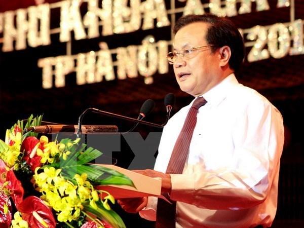 Comite partidista de Hanoi define orientaciones para proximo mandato hinh anh 1