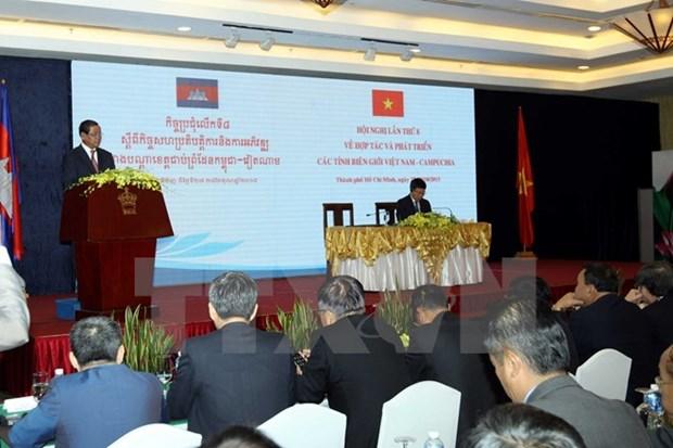 Vietnam y Cambodia promueven cooperacion entre localidades fronterizas hinh anh 1