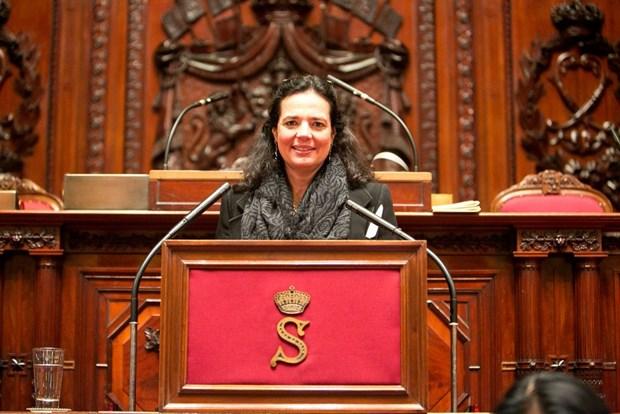 Presidenta del Senado belga visitara Vietnam hinh anh 1