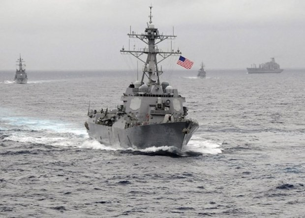 Dirigentes mundiales abogan por libertad de navegacion en Mar del Este hinh anh 1