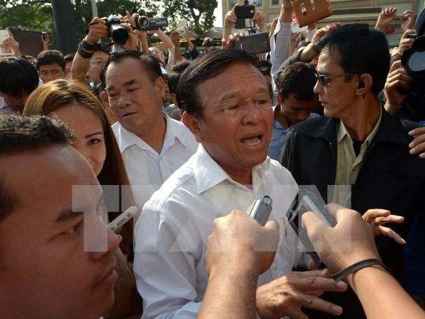 Parlamento cambodiano destituye a subtitular Kem Sokha hinh anh 1