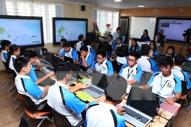 Apoya Sudcorea a Vietnam en aplicacion de TI en educacion hinh anh 1
