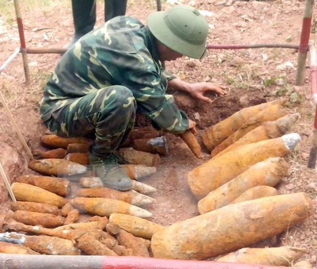 Convocan asistencia internacional a superacion de secuelas de bombas hinh anh 1