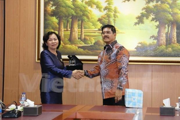 Vietnam busca robustecer cooperacion judicial con Indonesia hinh anh 1