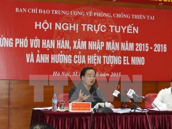 Busca Vietnam medidas de respuesta a la sequia y la salinizacion hinh anh 1