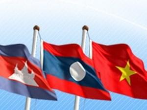 Fuerzas de seguridad de Laos, Vietnam y Cambodia fomentan amistad hinh anh 1