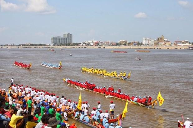 Cambodia cancela regata tradicional por sequia hinh anh 1