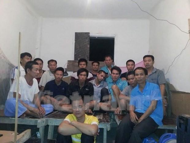 Sellan acuerdo de repatriacion de trabajadores vietnamitas en Argelia hinh anh 1