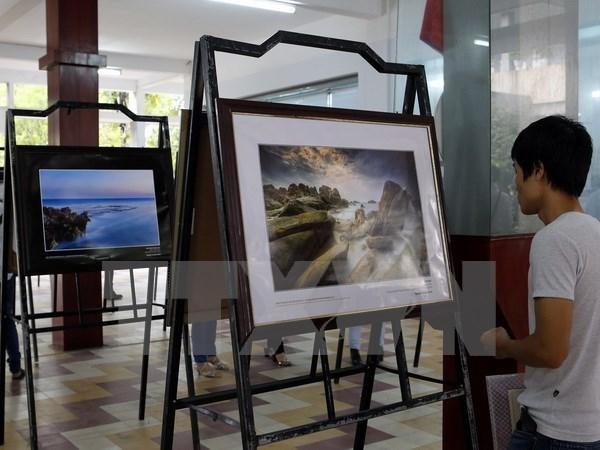 Inauguran en Da Nang exhibicion de patrimonios de Vietnam 2015 hinh anh 1