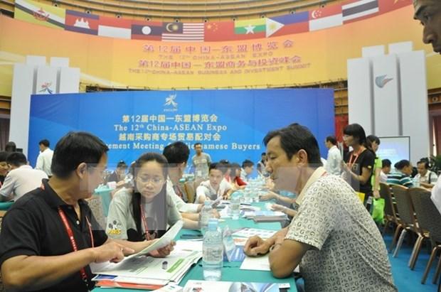 Efectuan en Ha Giang feria comercial Vietnam – China hinh anh 1