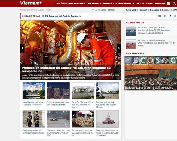 Vietnam fortalece labores de informacion al exterior hinh anh 1