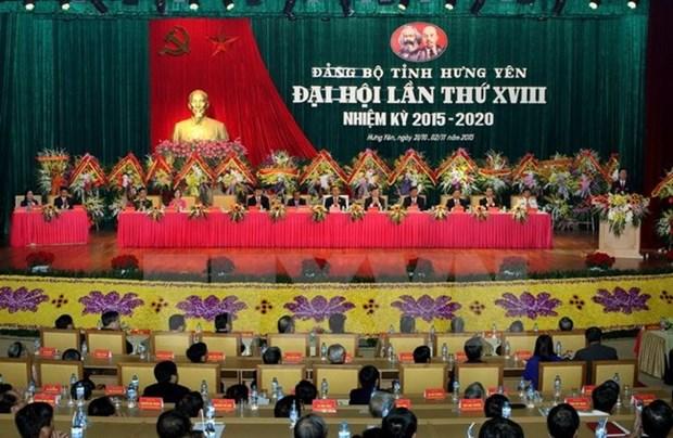 Organizaciones del Partido Comunista de Vietnam concluyen asambleas hinh anh 1