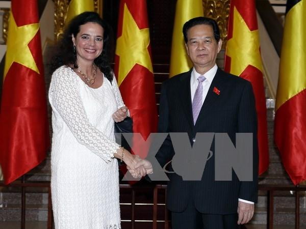Visita de titular de Senado belga a Hanoi: hito para nexos bilaterales hinh anh 1