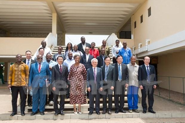 Forjan cooperacion entre partidos gobernantes de Vietnam y Mozambique hinh anh 1