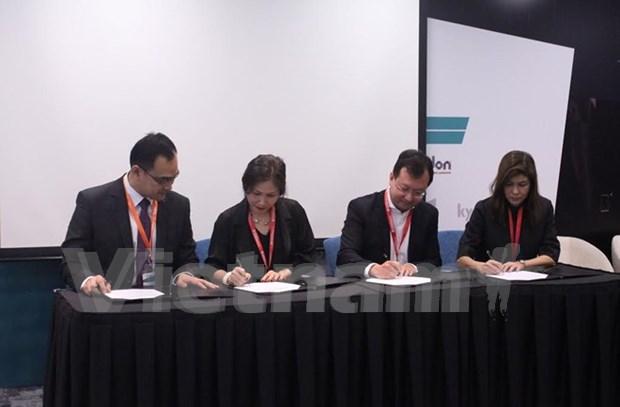Empresas de Vietnam y Singapur cooperan en e-learning hinh anh 1