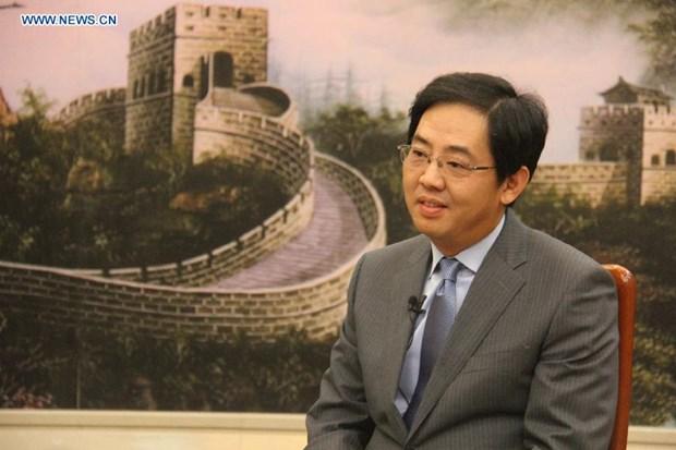 Embajador chino:Visita de Xi Jinping a Vietnam forjara confianza mutua hinh anh 1