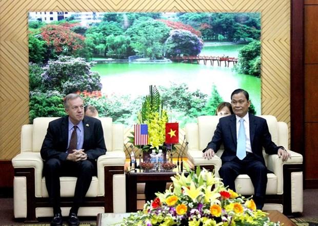 Dispuesto EE.UU. para apoyar a Vietnam en elaboracion de leyes hinh anh 1
