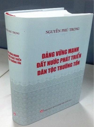 Publicaran libros sobre dirigentes del Partido y Estado de Vietnam hinh anh 1