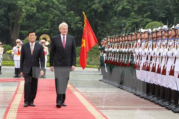 Proyectan Vietnam e Islandia expandir cooperacion bilateral hinh anh 1