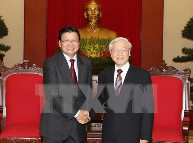 Vietnam y Laos enriquecen solidaridad especial hinh anh 1