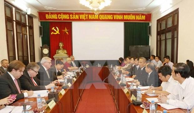 Vietnam y Parlamento Europeo impulsan cooperacion laboral hinh anh 1