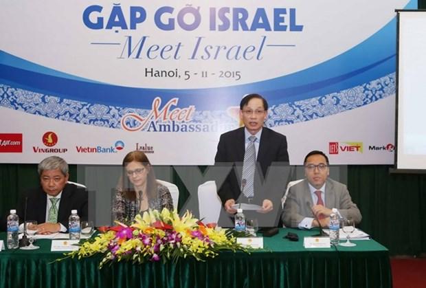 Vietnam impulsa lazos comerciales con Israel hinh anh 1