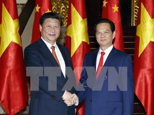 Vietnam y China abogan por fomentar confianza politica hinh anh 1